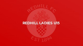 Redhill Ladies U15