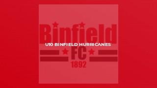 U10 Binfield Hurricanes