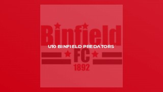U10 Binfield Predators