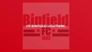 U11 Binfield Lightning