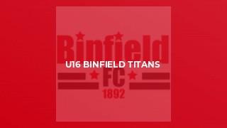 U16 Binfield Titans