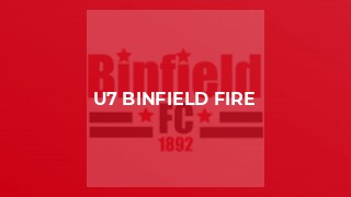 U7 Binfield Fire