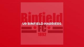 U9 Binfield Harriers