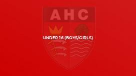 Under 16 (Boys/Girls)