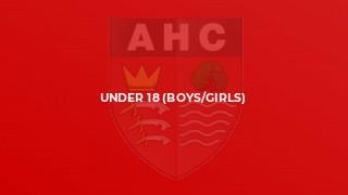 Under 18 (Boys/Girls)