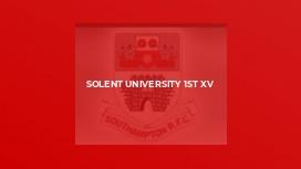 Solent University 1st XV