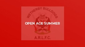 Open Age Summer
