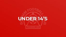 Under 14's