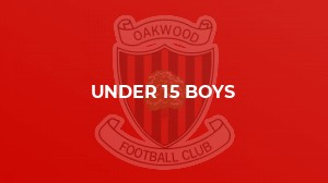Oaks U15 Out-gun West Wickham