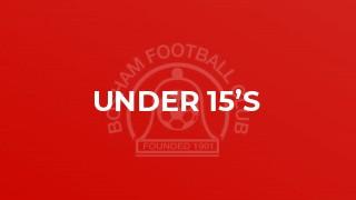 Under 15's