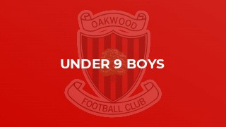 Under 9 Boys