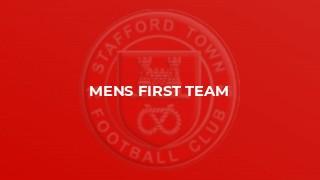 Mens First Team