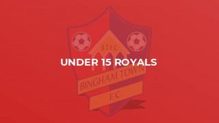 Under 15 Royals