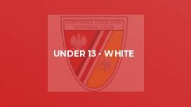 Under 13 - White