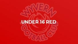 Under 16 Red