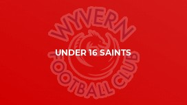 Under 16 Saints
