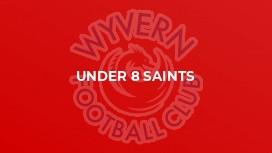 Under 8 Saints