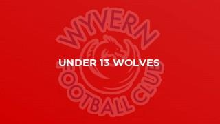 Under 13 Wolves