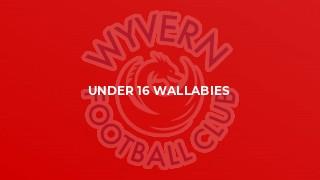 Under 16 Wallabies