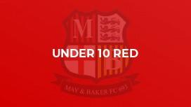 Under 10 Red (Echo)