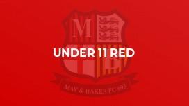 Under 11 Red (Echo)