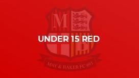 Under 15 Red (Echo)