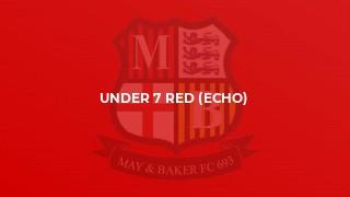 Under 7 Red (Echo)