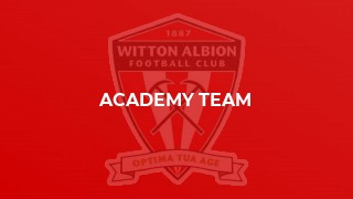 Academy Team complete season with a draw at Ossett United.