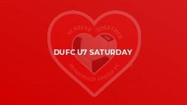 DUFC U7 Saturday