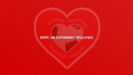 DUFC U8 Saturday Yellows