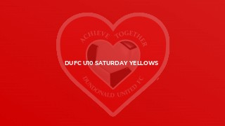 DUFC U10 Saturday Yellows