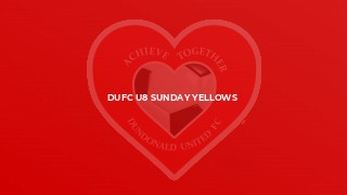 DUFC U8 Sunday Yellows