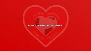 DUFC U9 Sunday Yellows