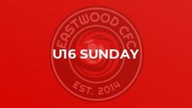 U16 Sunday