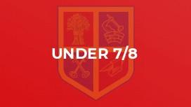 Under 7/8
