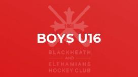 Boys U16