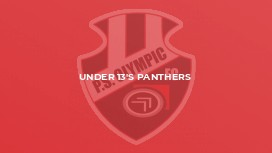 Under 14's Panthers