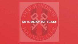 Saturday 1st Team