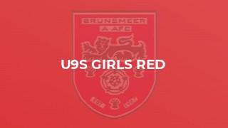 U9s Girls Red
