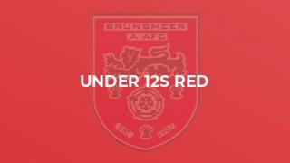 Under 12s Red