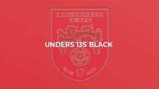 Unders 13s Black
