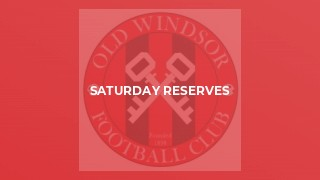 Saturday Reserves v Falcons