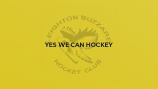 Yes We Can Hockey