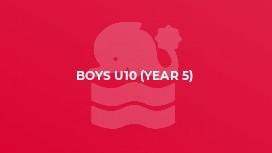 Boys U10 (year 5)