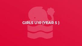 Girls U10 (year 5 )