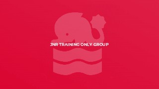 Jnr Training ONLY Group