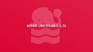 Mixed U8s (year 1, 2, 3)
