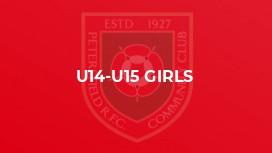 U14-U15 Girls