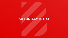 Saturday 1st XI