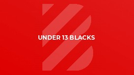 Under 13 Blacks